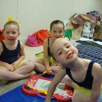 Poppy with Greer & Jada