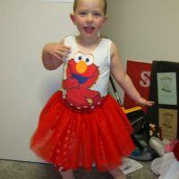 Elmo outfit