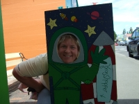 Mummy astronaut