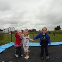 Jana & Ayla on the tramp with Poppy