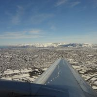 ChCh covered in snow