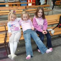 The girls at skating