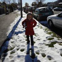 STILL snow on the ground