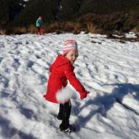 St James Walkway snow stop