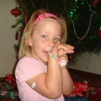 Candy bracelets were a hit