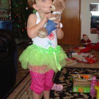 Cute tutu set from daddy - kissing bear