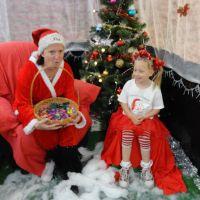 Visiting Santa\'s helper at Bunnings...