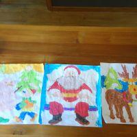 Poppy\'s Christmas Art