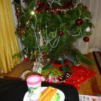 Christmas Eve preparations