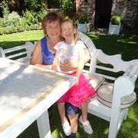 Mummy & Poppy on Christmas Day 2011