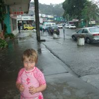 Rainy day in Sigatoka township