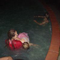 Midnight pool!