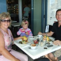 Breakfast with Niall at Mt Maunganui