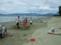 Sandcastles everywhere