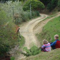 Poppy & Azzan on the hill