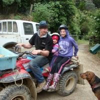 Off mustering with Anson