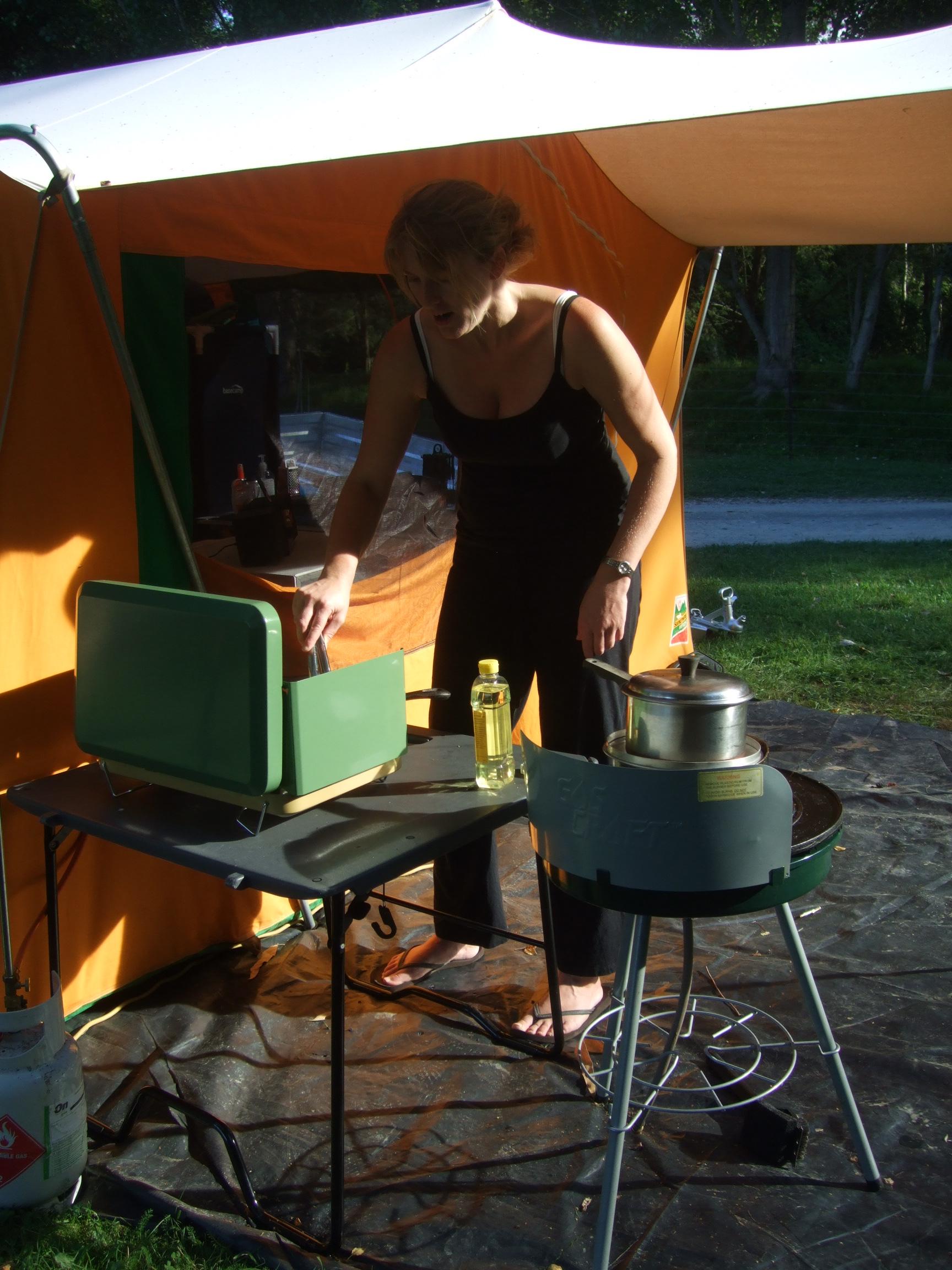 Bec being Camp Mum