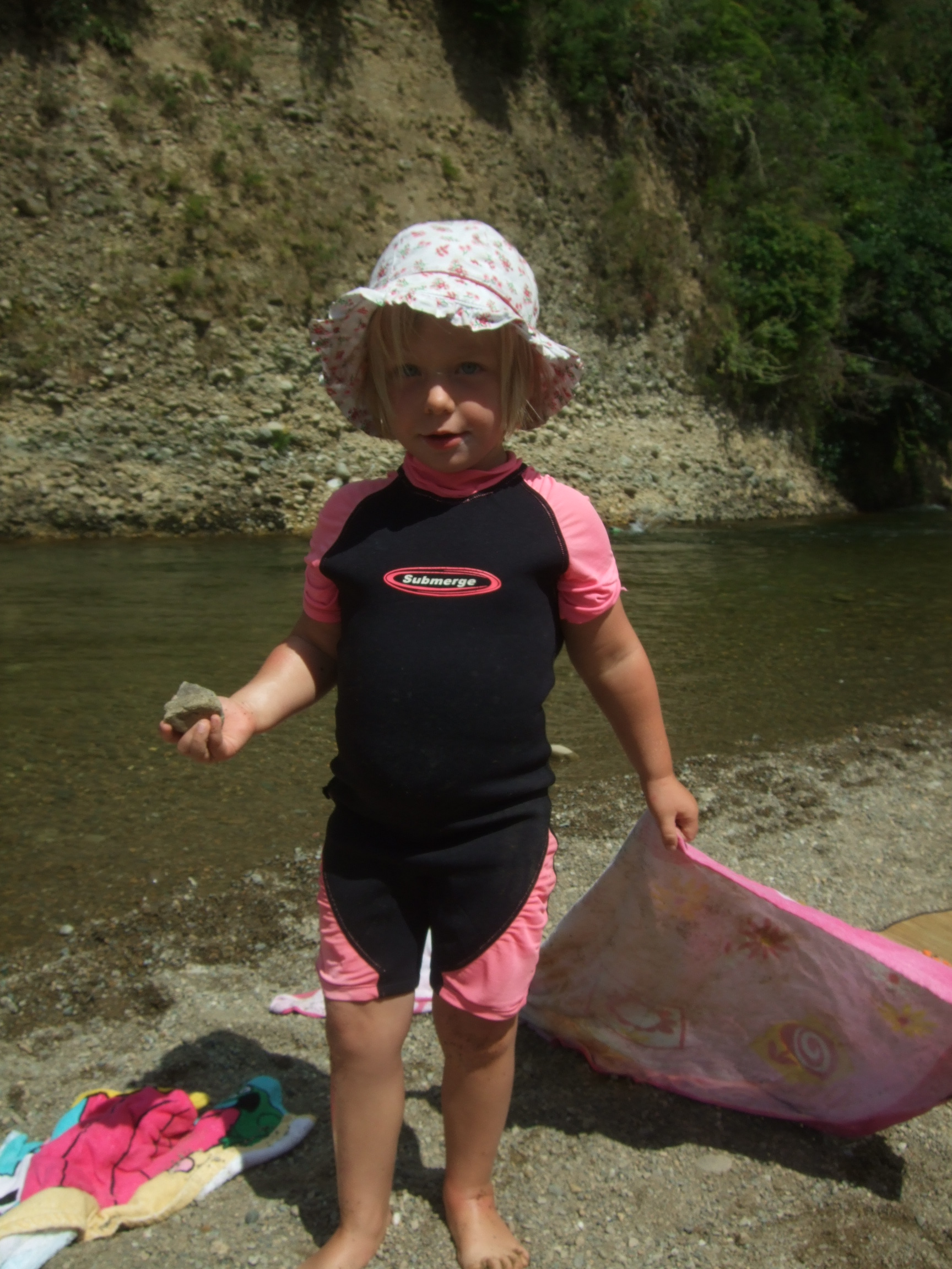 Back to the river for a swim