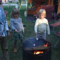 More marshmallow toasting
