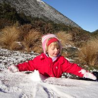 Lovely powdery snow