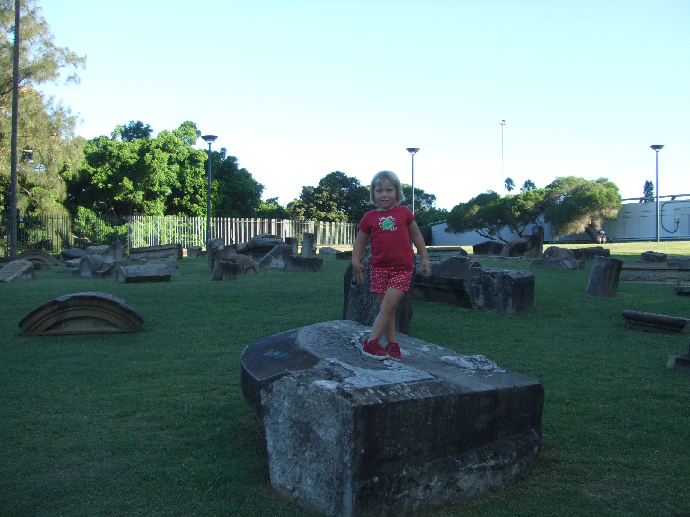playing-on-the-statue-lawn