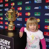 With the Webb Ellis Trophy