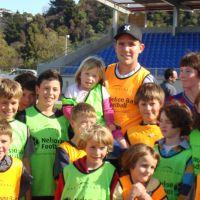 Team Photo with Jeremy Brockie